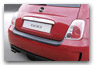 trunk sill protector FIAT 500 accessories