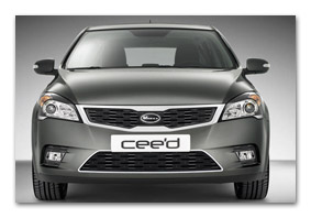 grille frame for front bumper KIA Ceed until MY 2009 - accessories