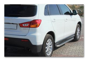 running boards MITSUBISHI ASX since 2012 until 2016 accessories