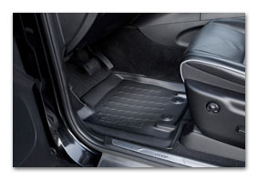 foot well shells SKODA Yeti dirt mat