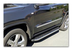 running boards JEEP Grand Cherokee stainless steel polished