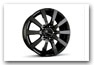 FIAT Freemont since MY 2012 Alloy wheel Design C2C black glossy