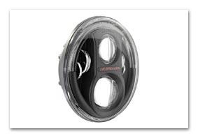 LED Scheinwerfer schwarz JEEP Wrangler (JK) ab MJ 2007 bis 2010 Teile