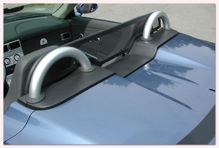 bmw z3 f chrombgel windschotts mit perfekter passform. Black Bedroom Furniture Sets. Home Design Ideas