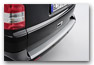Rear Bumper Paint Protector silver VOLKSWAGEN T5