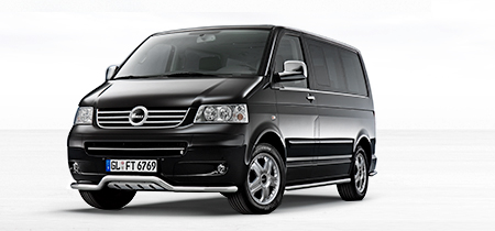 Das Zubehoer for VW T5 Multivan