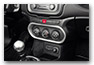 Cover for climate control JEEP Renegade from MY 2015 until 2018 accessories