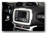 frame for navigation device JEEP Renegade from MY 2015 until 2018 accessories