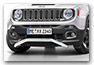 front spoiler protection pipe JEEP Renegade accessories