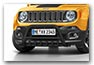 frontbar JEEP Renegade from MY 2015 until 2018 accessories black