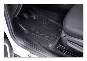 Gummifußmatten FIAT 500X ab 2014 Zubehör