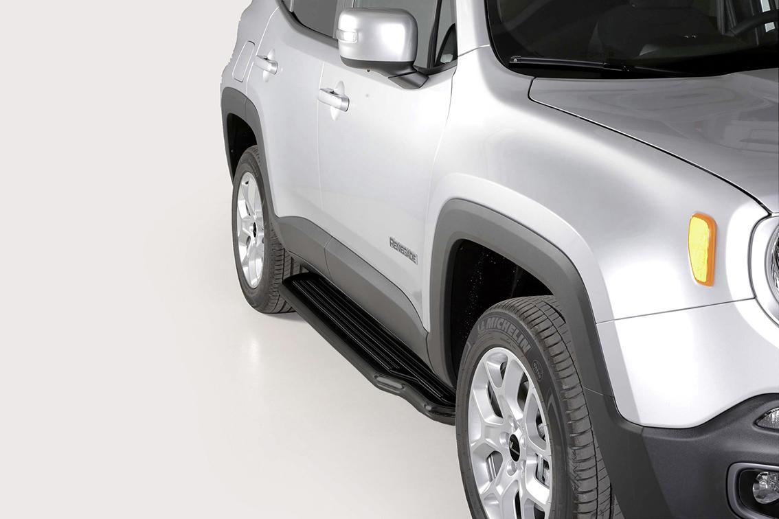 trittbretter jeep renegade ab mj 2015 bis 2018 vm03428 s. Black Bedroom Furniture Sets. Home Design Ideas