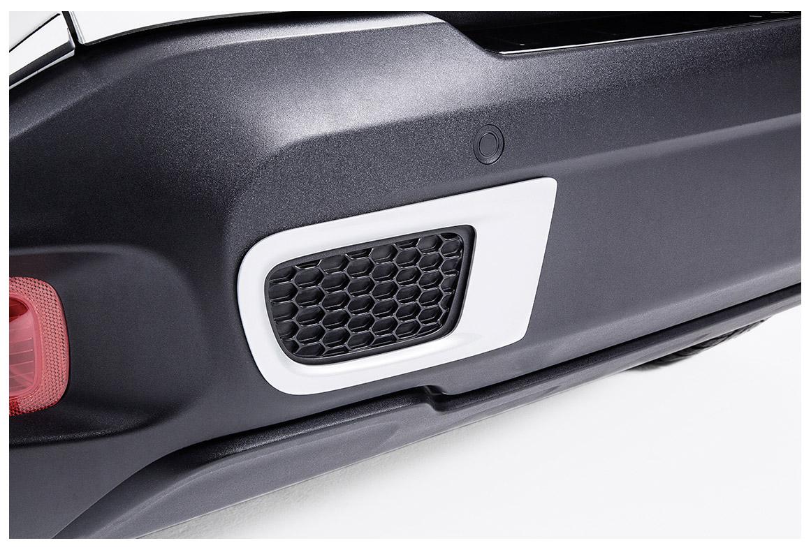 blenden f r hecksto stange jeep renegade ab mj 2015. Black Bedroom Furniture Sets. Home Design Ideas