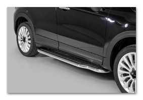 running boards FIAT 500X since 2014 tuning parts