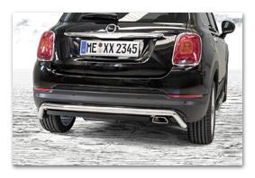 rear guard FIAT 500X since 2014 accessorio
