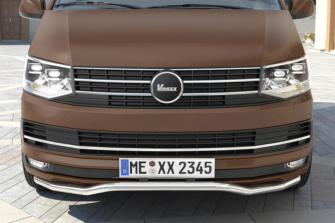 spoilerschutzrohr volkswagen t6 ab mj 2016 an03577. Black Bedroom Furniture Sets. Home Design Ideas