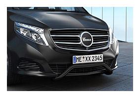 Frontbar MERCEDES-BENZ V-Klasse (447) since 2014 until 02/2019 black