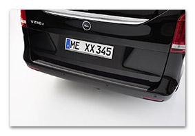 Rear guard MERCEDES-BENZ V-Klasse accessory