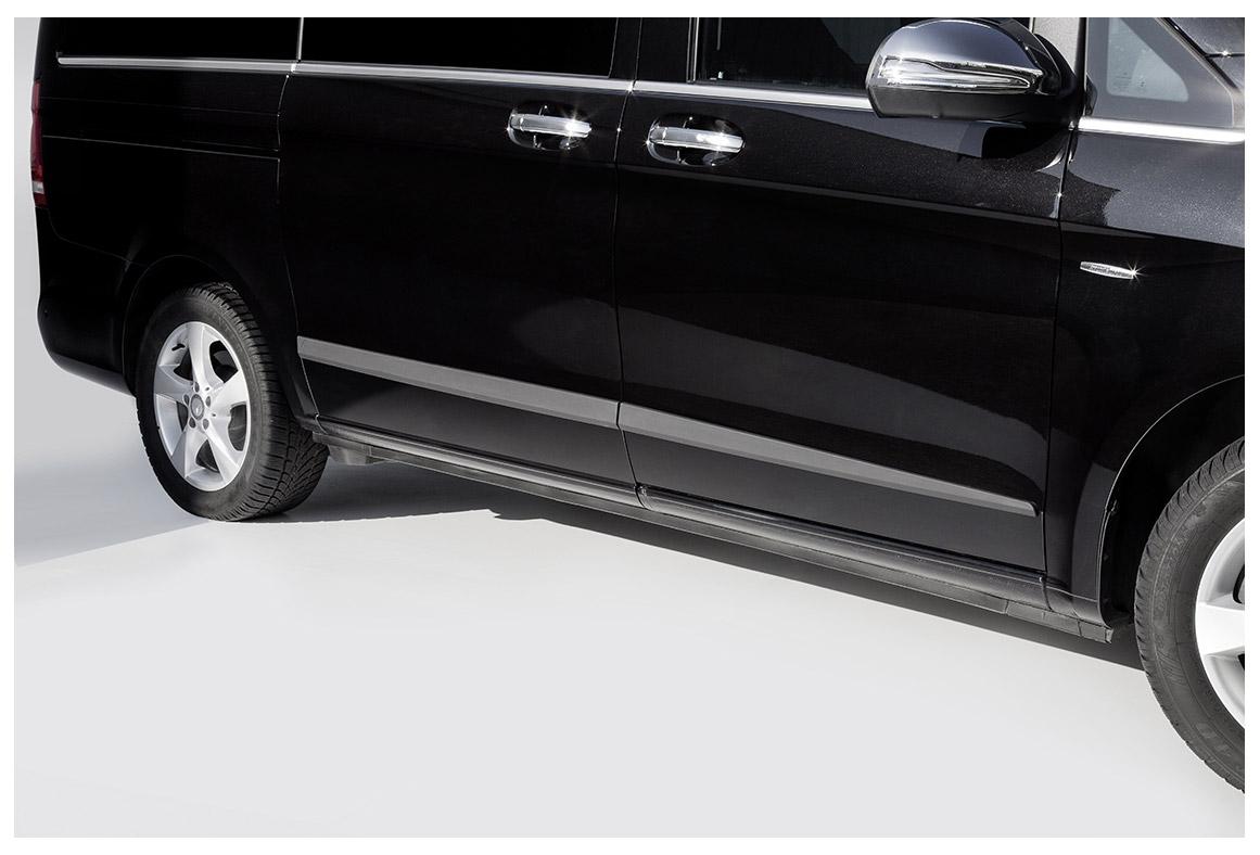 seitenschutzleisten mercedes benz v klasse 447 vm03557. Black Bedroom Furniture Sets. Home Design Ideas