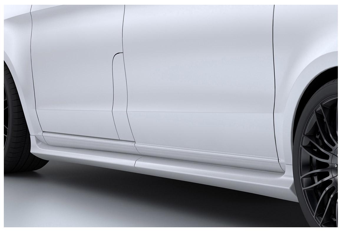 seitenschweller mercedes benz v klasse 447 ab 2014. Black Bedroom Furniture Sets. Home Design Ideas