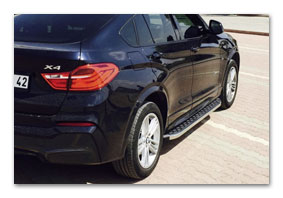 running boards BMW X4 (F26) until 2018 accessories