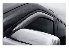 window deflectors VOLKSWAGEN Amarok since 2010 until 2016 accessories