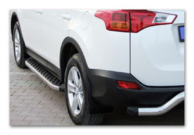 running boards TOYOTA RAV 4 accessories
