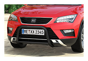 Frontbar SEAT Ateca (Pre-Facelift) from 2016 until 2020 black