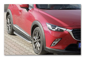 running boards MAZDA CX-3 accessories