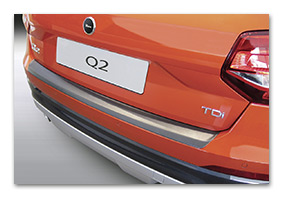 Rear Bumper Paint Protector AUDI Q2 since 2017 Accessories