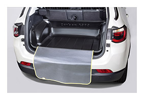 Carbox boot liner JEEP Compass (MX) from 2017 until 2021 accessories