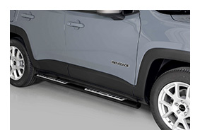 side bars black JEEP Renegade since MY 2019
