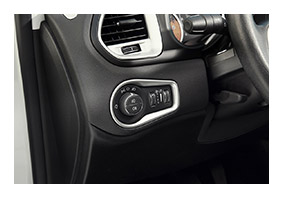 Cover for lamp switches JEEP Renegade since MY 2019 accessories