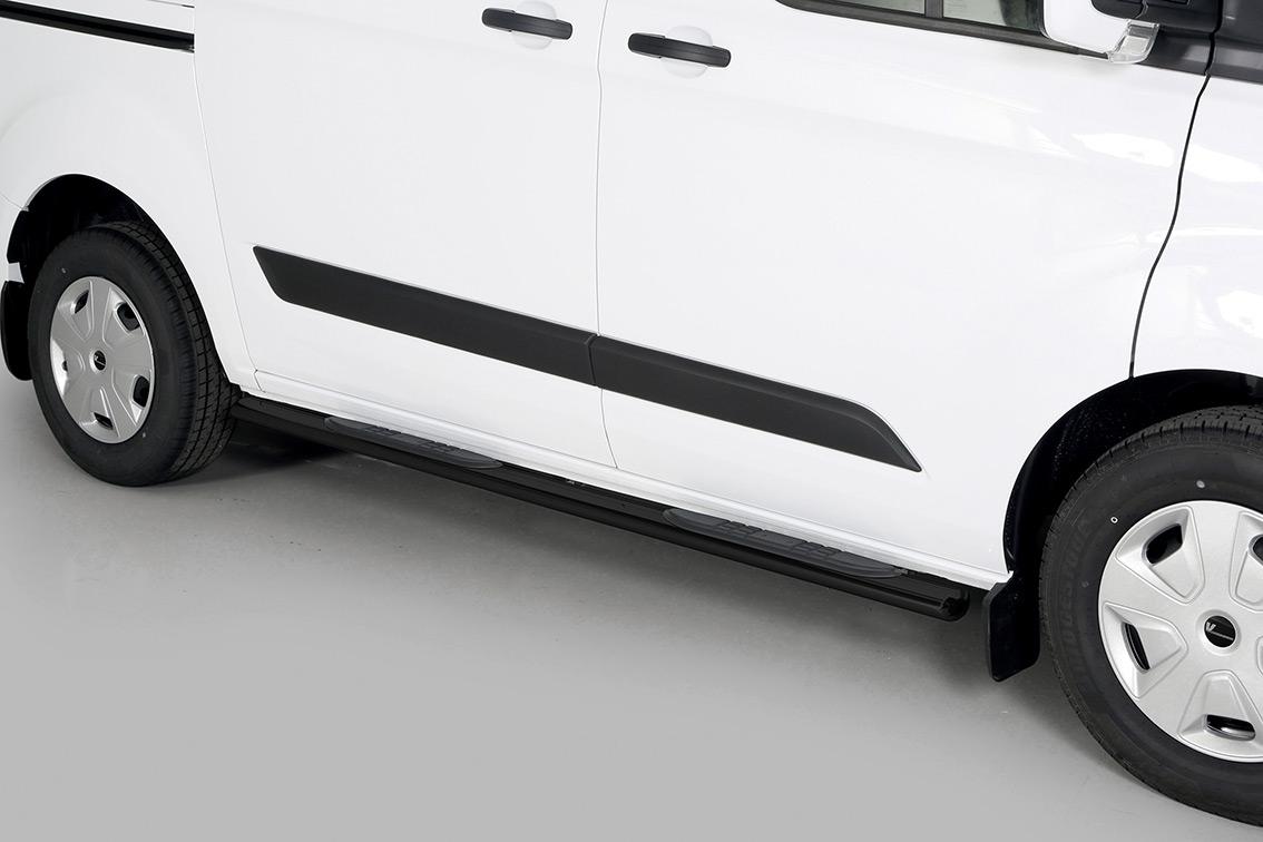schwellerrohre ford transit custom ab 2018 vm04783 s. Black Bedroom Furniture Sets. Home Design Ideas
