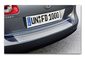 boot sill protection VOLKSWAGEN Passat 3B rear bumper protection