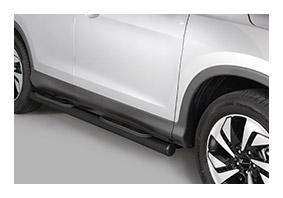 Seitenschwellerrohre schwarz Trittflächen HONDA CR-V Autoteile