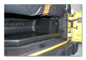 carbox boot liner JEEP Wrangler (JK) since MY 2007 until 2010 accessory parts