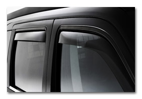 window deflectors KIA Venga car accessories