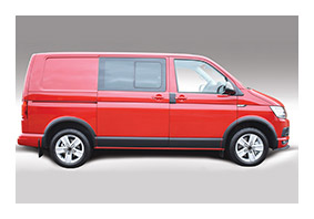 Body Moulding Covers for VOLKSWAGEN T5 until MY 2009 (VM05579)