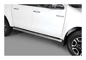 Schwellerrohre TOYOTA Hilux DoubleCab Facelift ab MJ 2021 - Zubehör