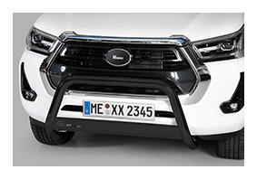 Frontbügel TOYOTA Hilux DoubleCab Facelift ab MJ 2021 - schwarz