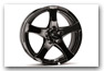 Leichtmetallfelgen Design F black JEEP Compass Styling Tuning