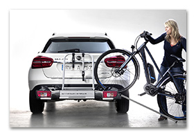 loading aid AUDI Q5 bike carrier for tow bar