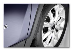 Radhausverbreiterung für SKODA Yeti ab MJ 2009 bis 2013 (VT00540)