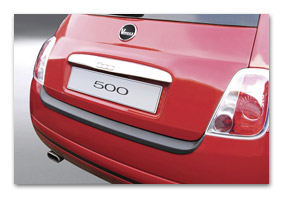 Rear bumper protector FIAT 500 car accessories