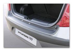 Rear bumper protector HYUNDAI i10 from 03/2008 to 10/2013 car accessories