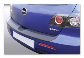 Rear bumper protector MAZDA 3 since 06/2006 until 12/2008 car accessories